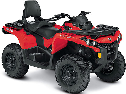 2013 Can-Am Outlander MAX 650 ATV pictures. 480x360 pixels