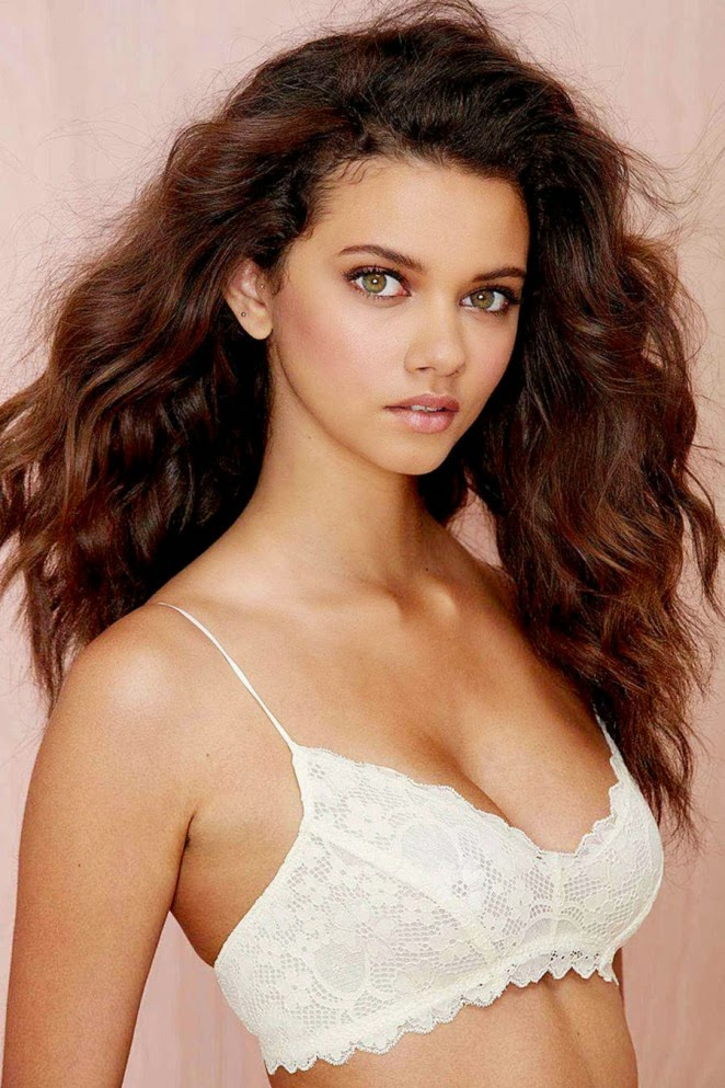 Nasty Gal Lingerie Lookbook 2014 featuring Marina Nery