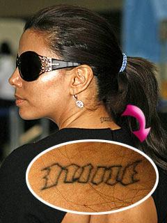 Eva Longoria Tattoos