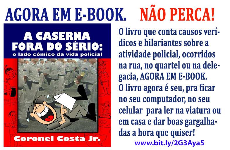 """Livro  """"A CASERNA""""  agora em E-book"""