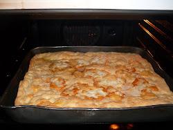✿*✿ *✿  pizza bianca con formaggio