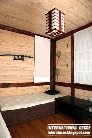 Interior Japanese Style Materials, Wood Japanese Interiors