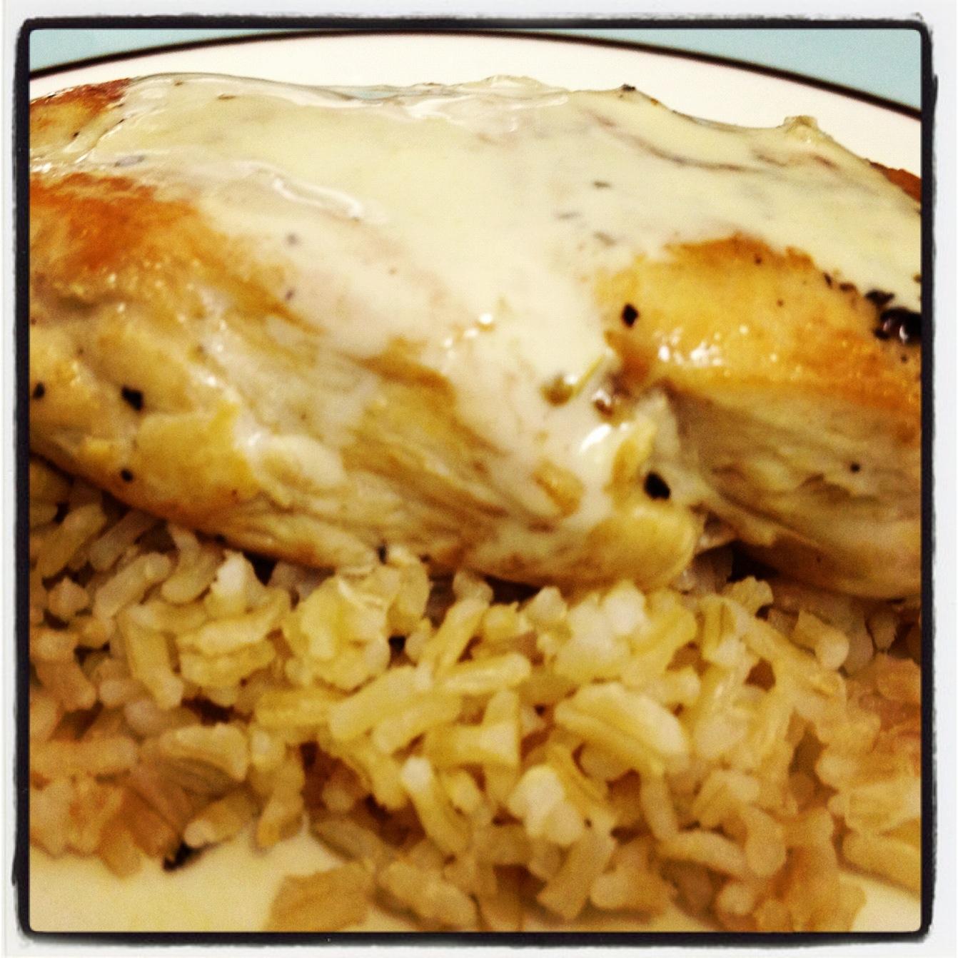 Chaos in the Condo: Chicken with Mustard Cream Sauce