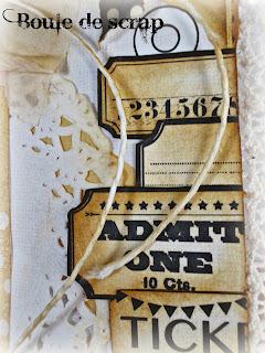 SRM Stickers Blog -Angelique Jarrier- #thankyou #card #mixedmedia #stickers #fancy