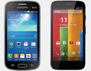 Motorola Moto E vs. Samsung Galaxy S Duos 2