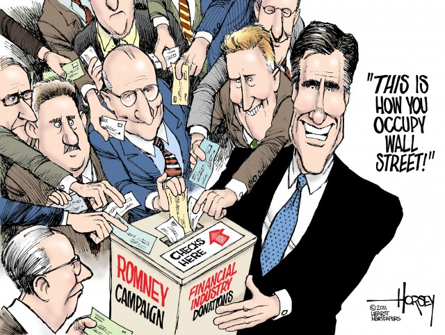 Mitt the banker 