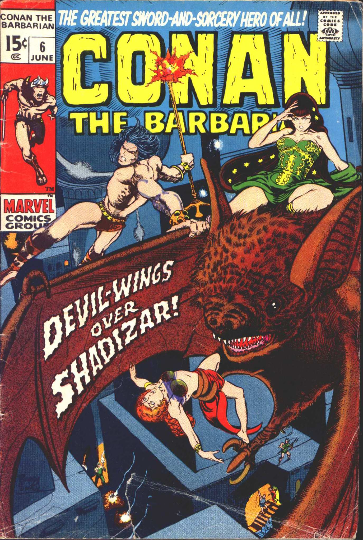 Conan the Barbarian (1970) 6 Page 1