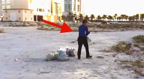 He Wakes At The Crack Of Dawn Every Day To Pick Up Trash. His Story? Shocking And Inspiring.