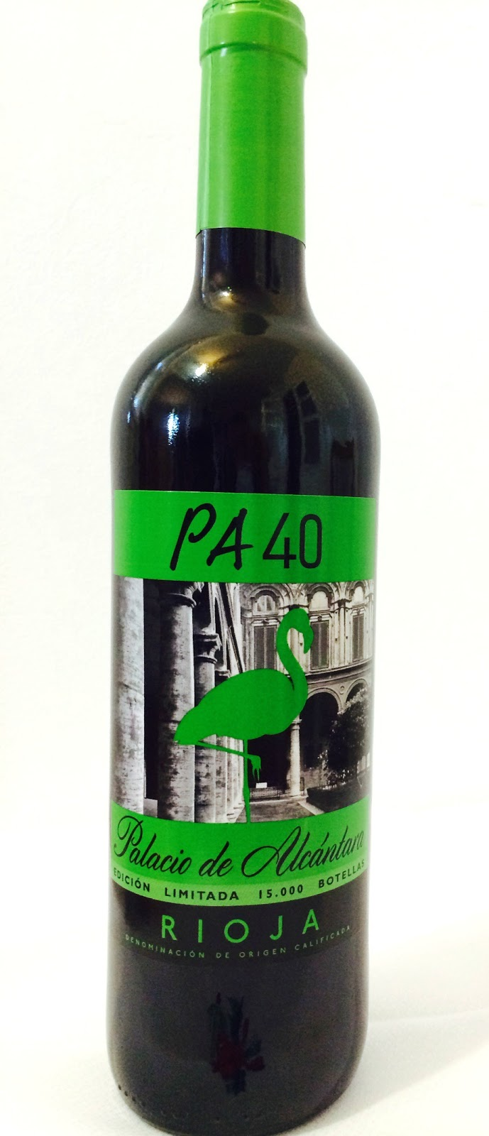 vino tinto Rioja Palacio de Alcantara PA40
