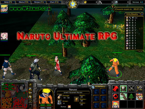 ultimate naruto online game