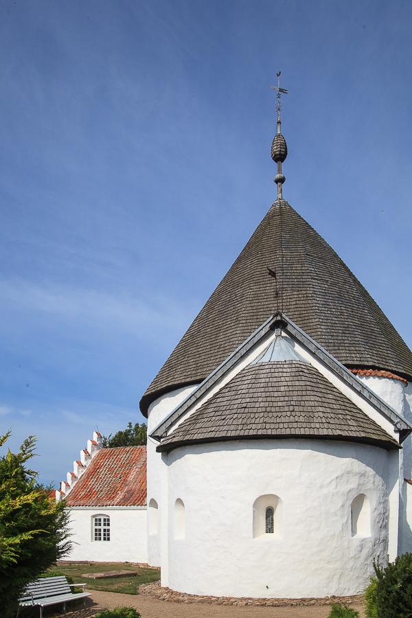 Amalie loves Denmark - Rundkirche auf Bornholm