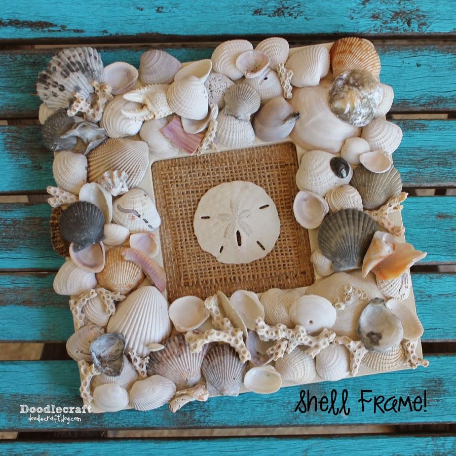 Doodlecraft 9 super seashell crafts for Seashell ornaments craft