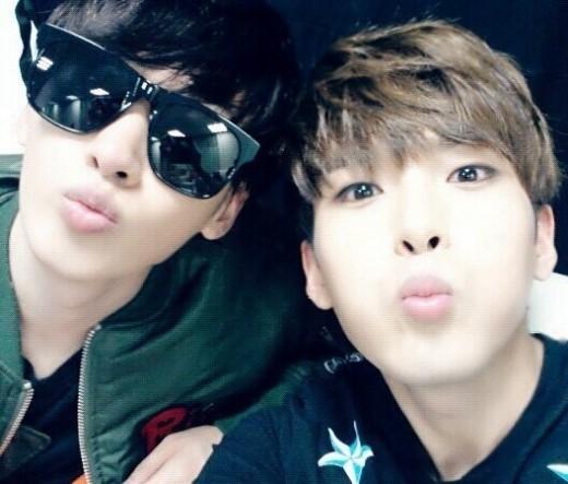 Eunhyuk & Ryeowook Selca