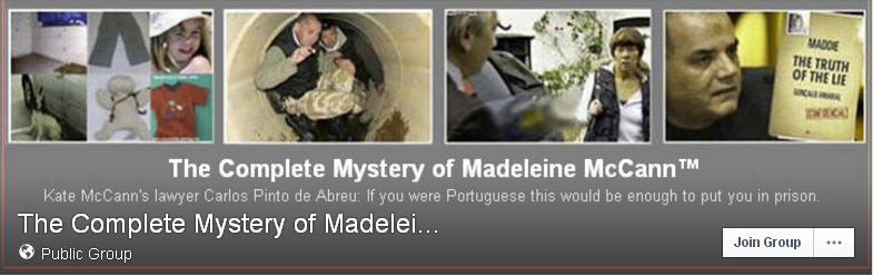 The Complete Mystery of Madeleine McCann™ on Facebook