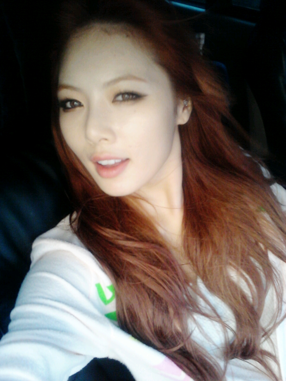 4Minute's HyunA reveals a new hairstyle | kpopunli