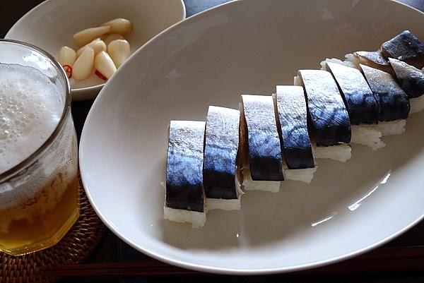 昨日のおっさんひとり飯 サバ寿司