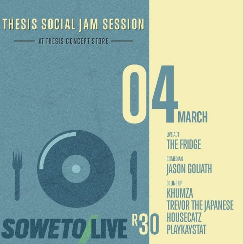 thesis social jam soweto Find and follow posts tagged i see a different you on tumblr.