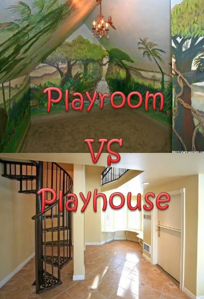 Playroom Vs Playhouse