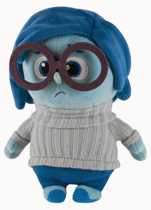 JUGUETES - DISNEY Inside Out : Del revés  Sadness | Tristeza | Peluche - Plush | Muñeco  Toys Producto Oficial Película 2015