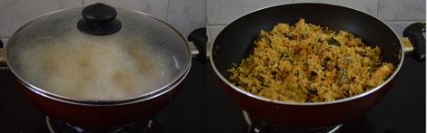how to make mushroom paneer biryani