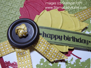 Satin Stitched Ribbon - September Back to Spool special