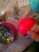 faire une boule de noel