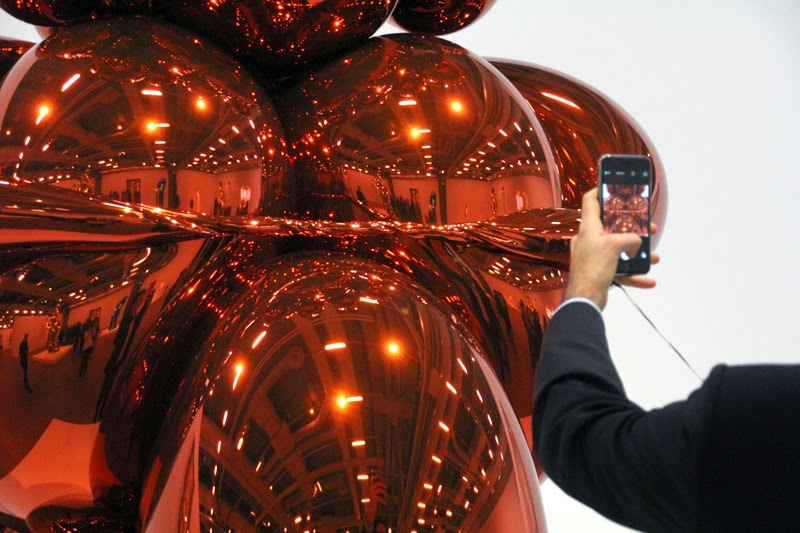 Exposition Jeff Koons au Centre Georges Pompidou