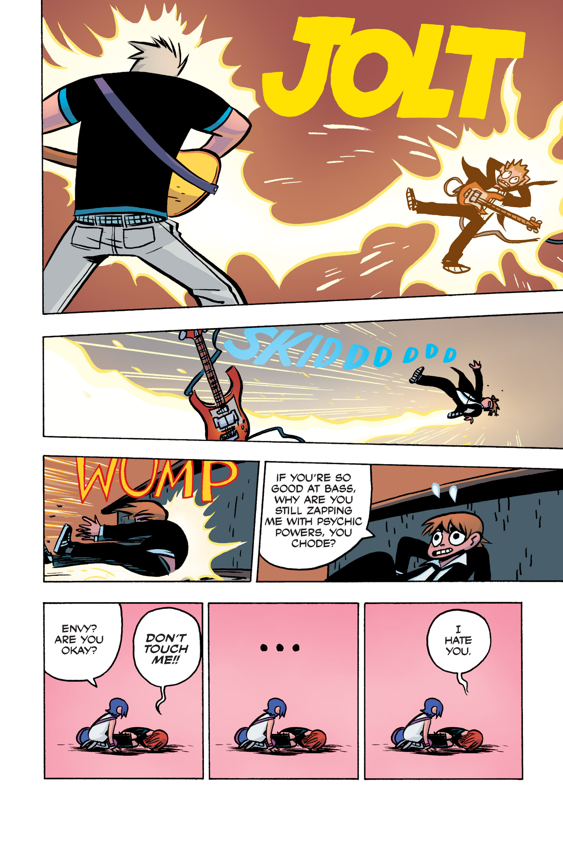 Read online Scott Pilgrim comic -  Issue #3 - 154