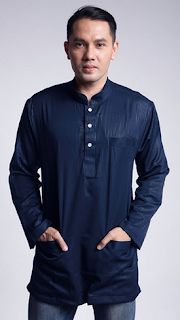 Model Baju Muslim Pria Koko Polos