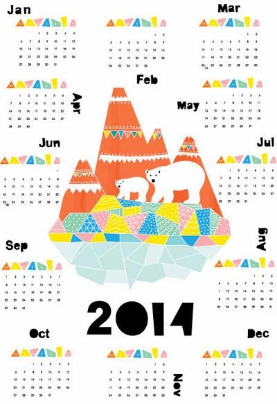 Print Amp Pattern 2014 Calendars