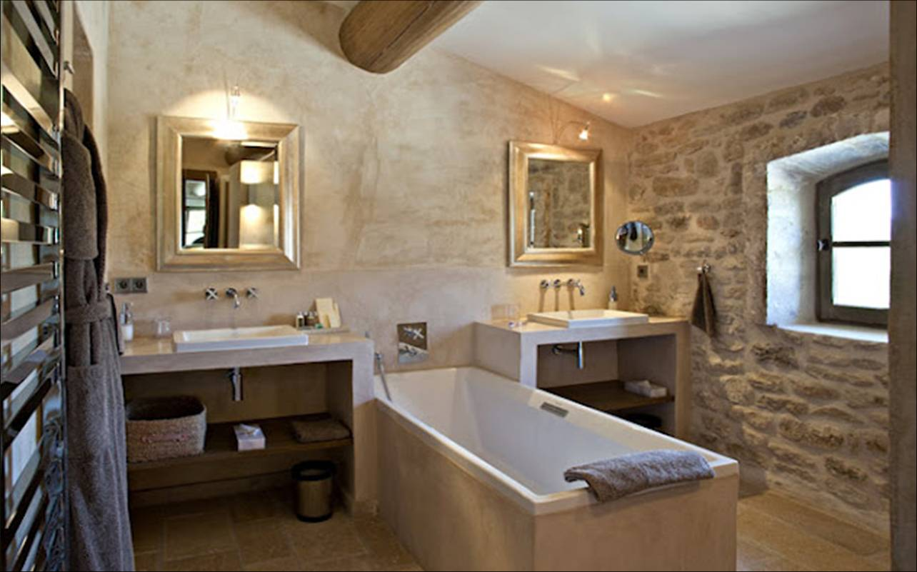 Baño Rustico Moderno:Decandyou Ideas de decoración y mobiliario para el hogar, estilos y