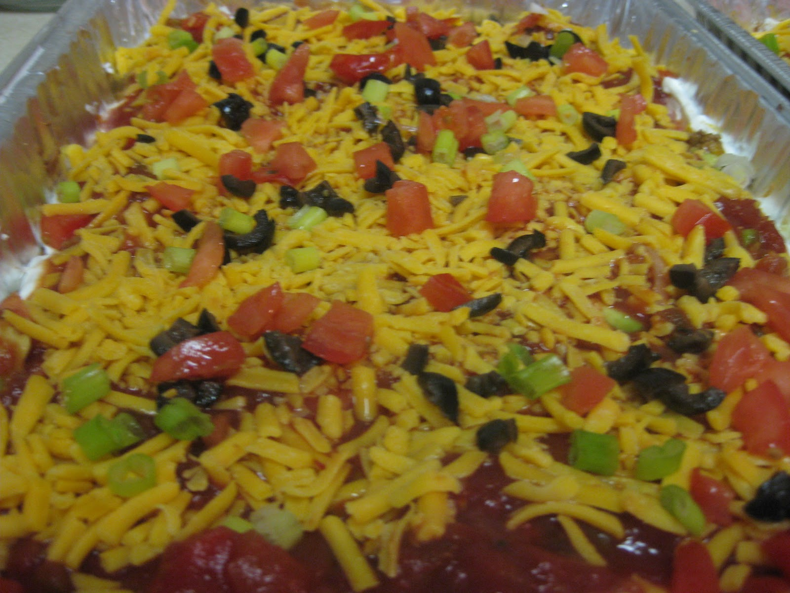 Lilliput Station Cooks: Layered Taco Dip