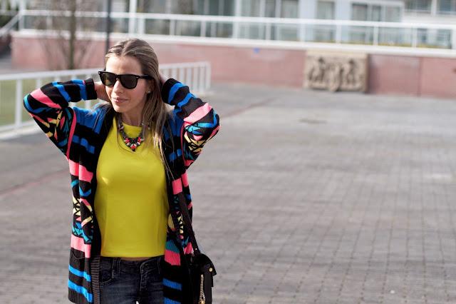 talita carvalho, streetstyle, rayban, amarelo, blog de moda