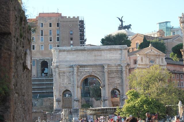 Arch of Septimus Severus, Rome, Italy
