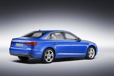New Audi A4 sedan