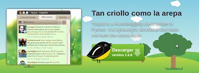 Imagen de Turpial - cliente de twitter para GNU/Linux