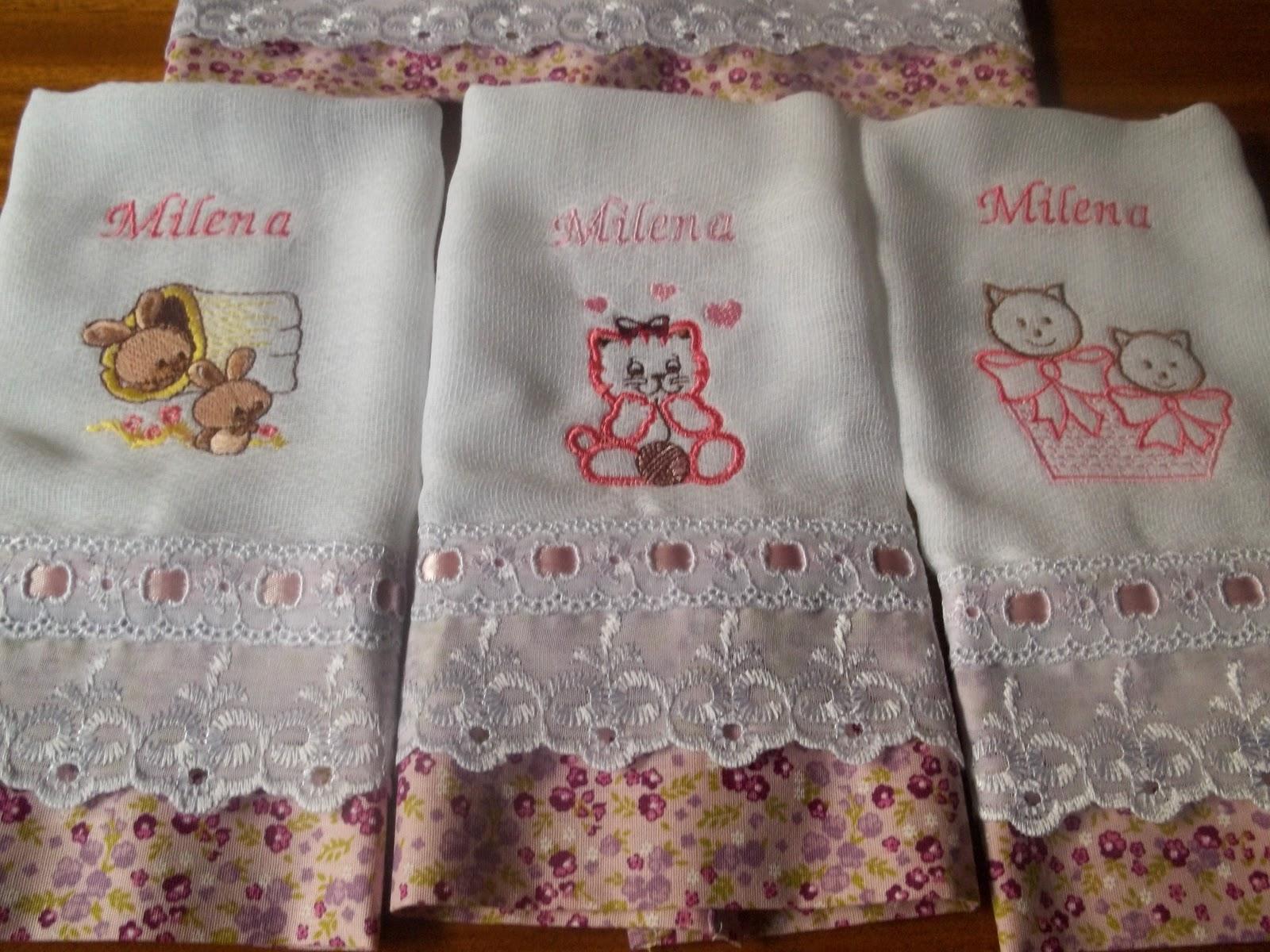 Fraldas Bordadas e Saida maternidade Compre no Elo7 Belinha Baby Tricô  Crochê e Bordados 5301ff7457