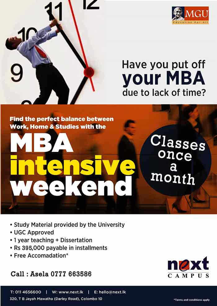 General MBA with specializations from MGU at Next Campus