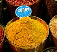 Curry-Pulver,Gelb