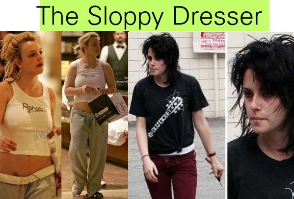 The Sloppy Dresser - Britney Spears, Kristen Stewart