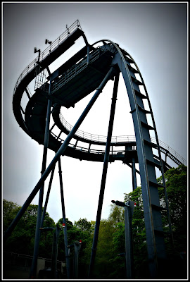 roller coaster, Alton Towers, roller coaster