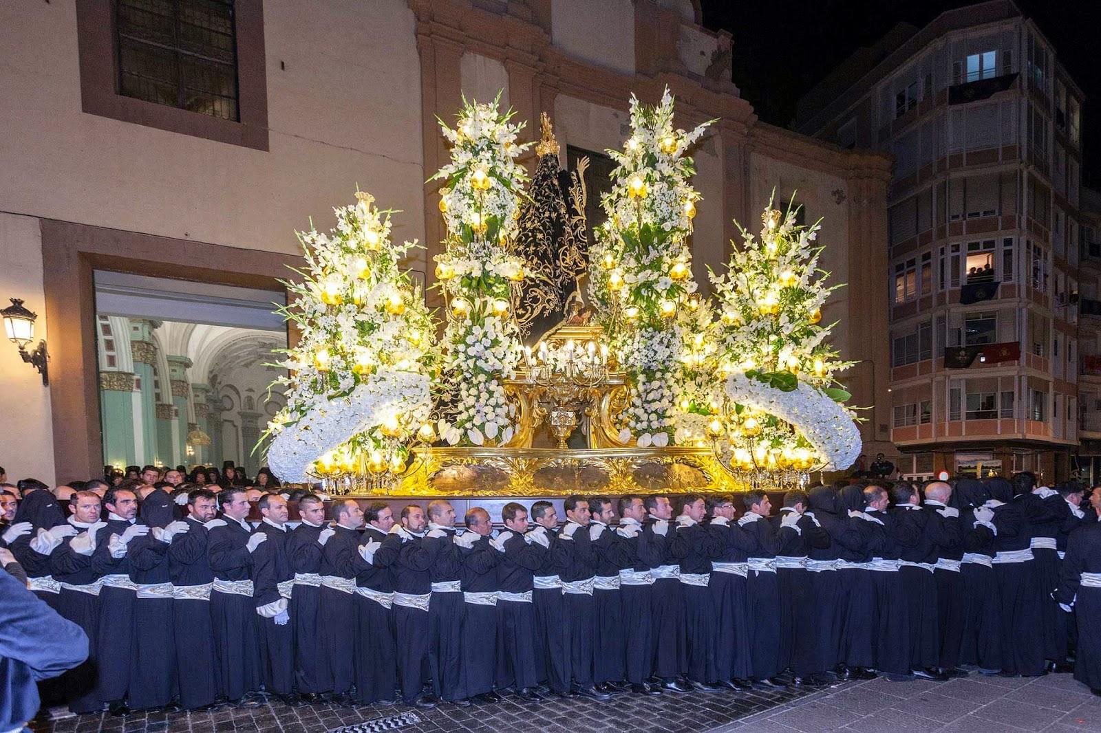 Trono Soledad Semana Santa Cartagena Murcia Arturo Serra escultura 17