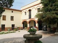 Els porxos de la masia de Can Sagristà