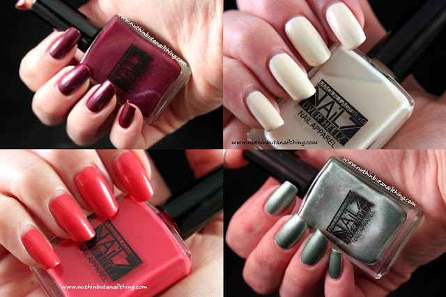 Maquillage Blvd nail polish swatches