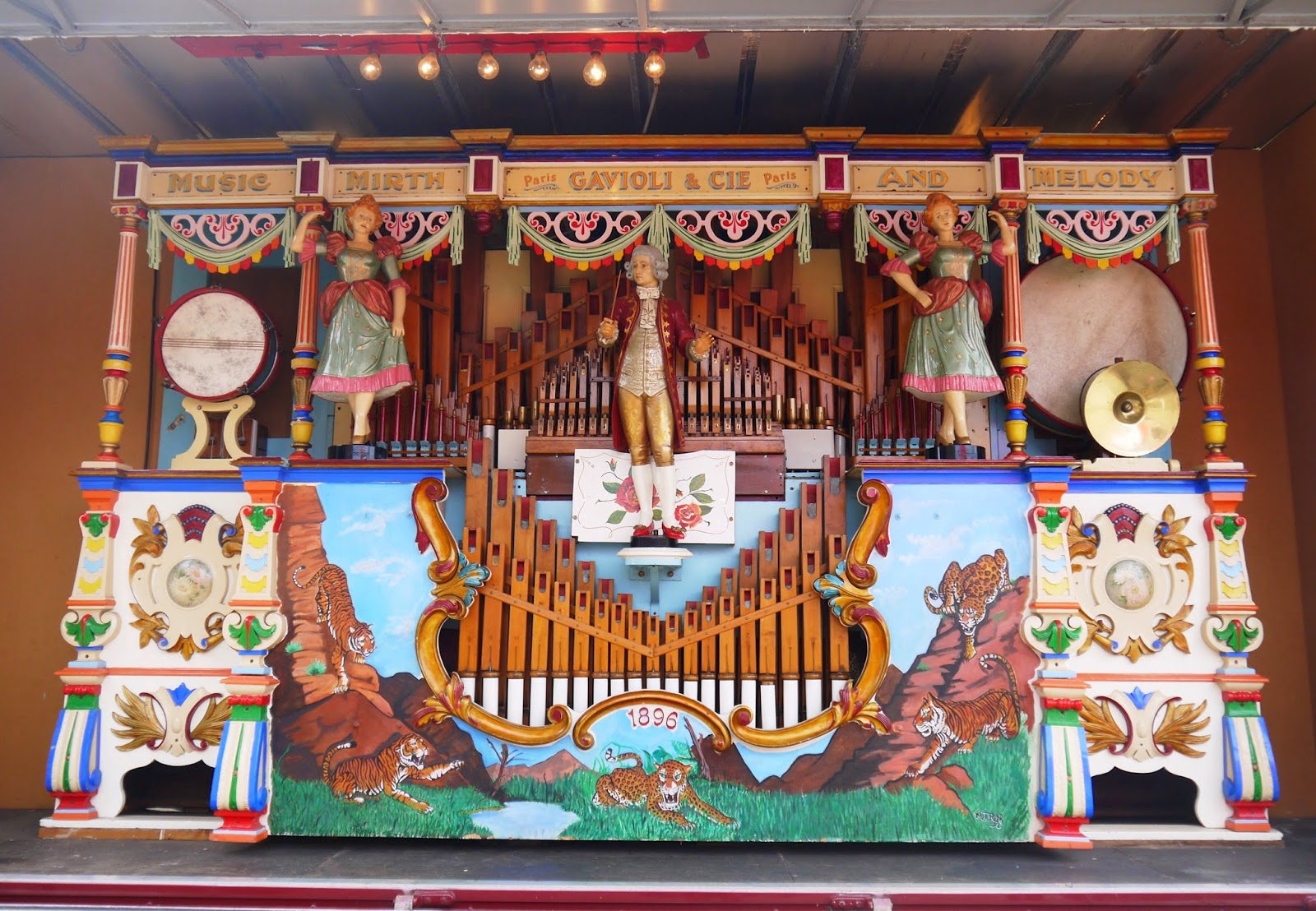 1896 fairground organ
