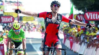 TOUR DE FRANCIA 2015 - Van Avermaet conquistó la dura decimotercera etapa