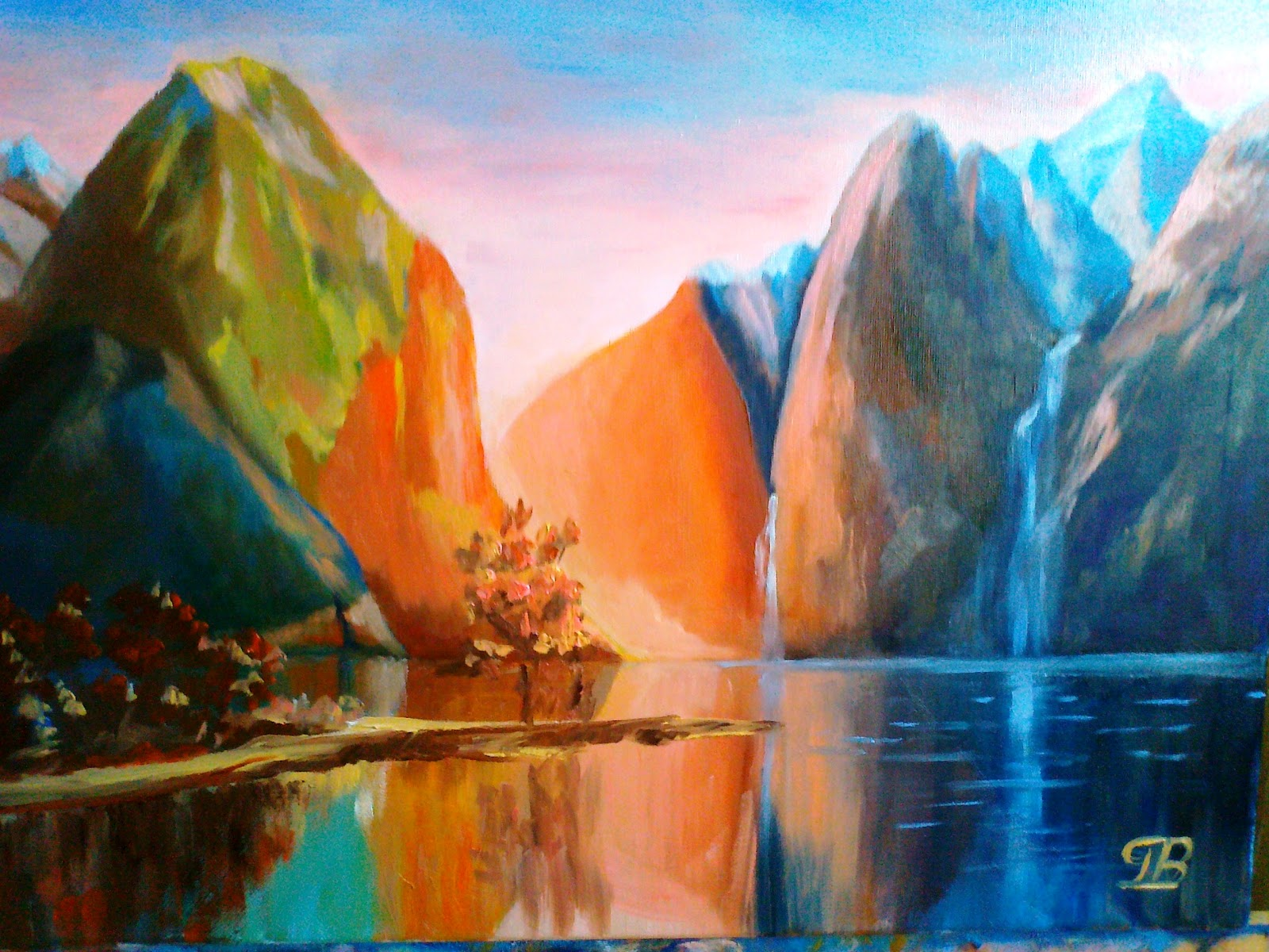 art--george: Sanctuary = Fiordland National Park - New Zealand