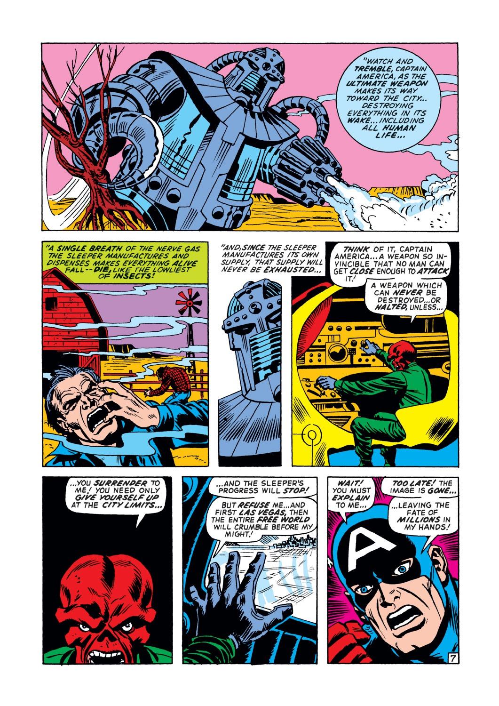 Captain America (1968) Issue #148 #62 - English 8