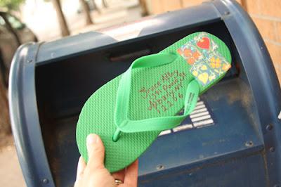 mail sandal - 13 Ounces or Less: Shipping Cheap & Sending Cheer