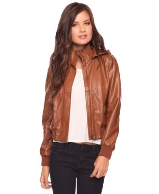 images for brown leather jackets for women forever 21